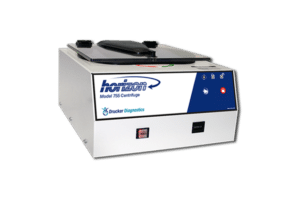 Horizon Model 755 Tube Benchtop Centrifuge, Front View, Drucker Diagnostics, Made in the USA