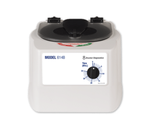 Model 614B Centrifuge Product, Drucker Diagnostics, Made in the USA