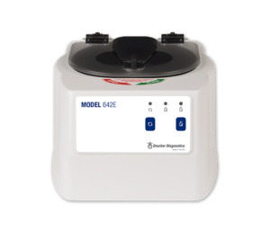 Model 642E Centrifuge Product, Drucker Diagnostics, Made in the USA