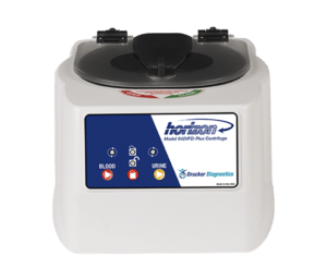 Horizon Model 642VFD-Plus Tube Benchtop Centrifuge, Front View, Made in the USA