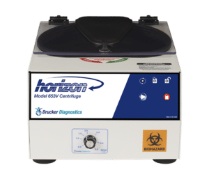 Horizon Model 653V Centrifuge, Front View, Made in the USA