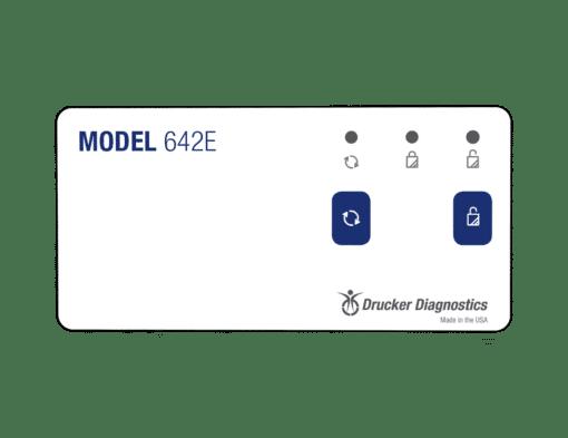 Model 642E Centrifuge, Close Up, Drucker Diagnostics, Made in the USA