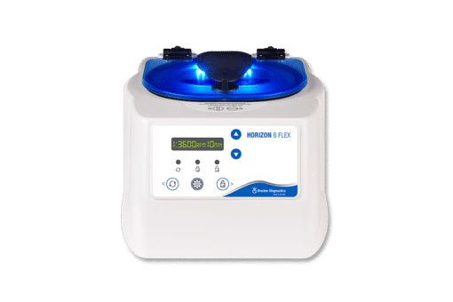 Horizon 6 Flex Centrifuge, Drucker Diagnostics, Made in the USA