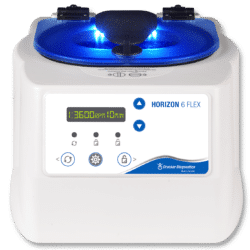 Drucker Diagnostics Horizon 6 FLEX Centrifuge with Digital Display, Made in the USA